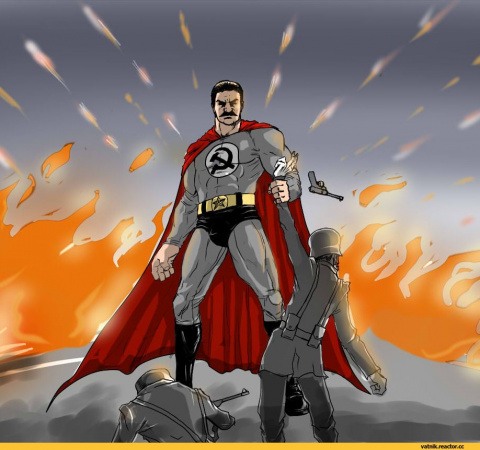 Сталин-мен, супер-Берия...