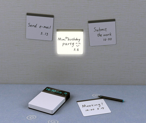 Альтернатива запискам на холодильнике