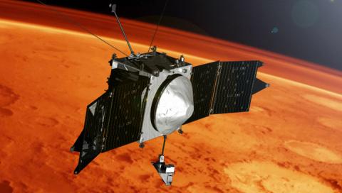 В атмосфере Марса впервые об…