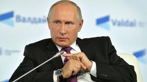 "Путин на заседании клуба ""Ва…"