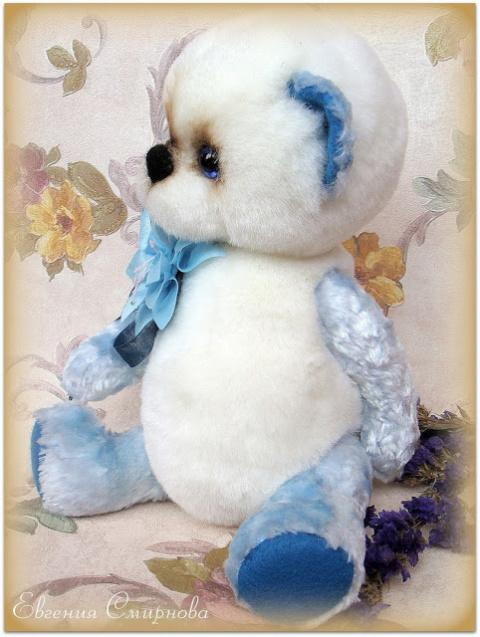 Медвежонок Снежок. Выкройка