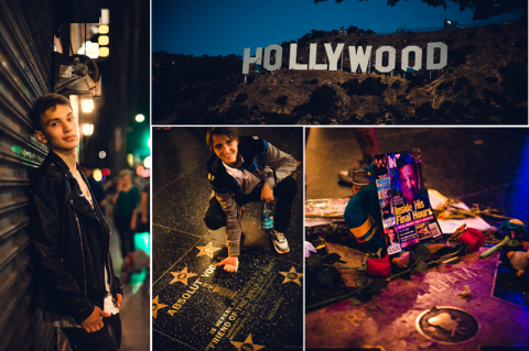 Город Ангелов – Лос-Анджелес…