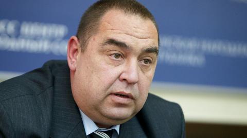 МВД Украины сообщило об отъезде Плотницкого в Россию