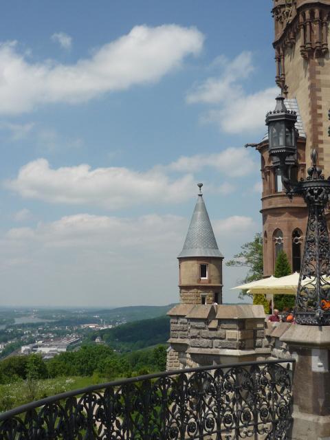 "Германия.Кенигсвинтер.Замок ""Драхенбург""."