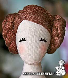 Из чего сделать кукле волосы