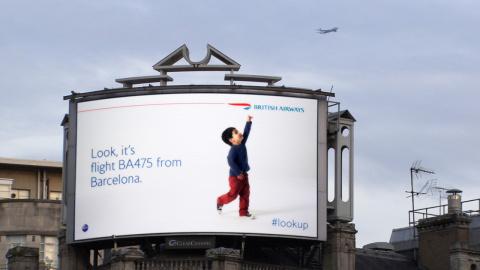 British Airways показала британцам куда летят ее самолеты