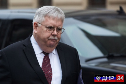 Американский посол Джон Теффт покинул Москву