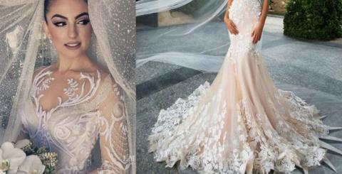 Самые стильные свадебные пла…