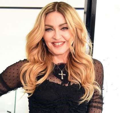 Мадонна в экономклассе (фото)