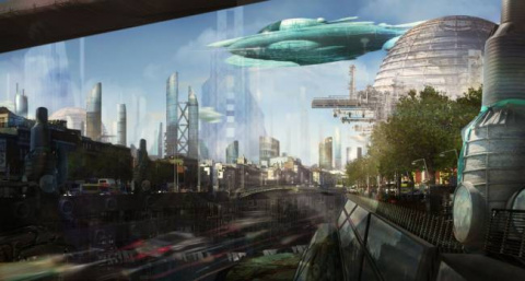 Инопланетный город Куили для землян