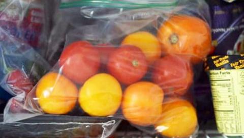 Как правильно заморозить помидоры…