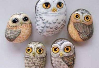 САМОДЕЛКИ. Рисование на камнях для начинающих