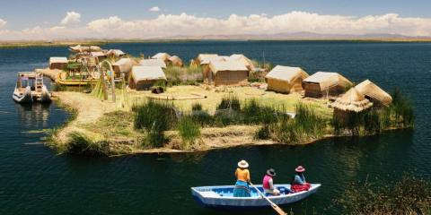 Плавающие острова озера Титикака