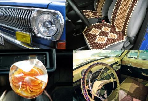 Шторки,монеты и оплетка руля : как тюнинговали машины в СССР