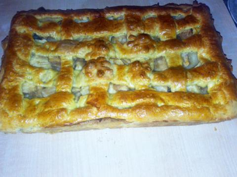 Украинский пирог с яблоками