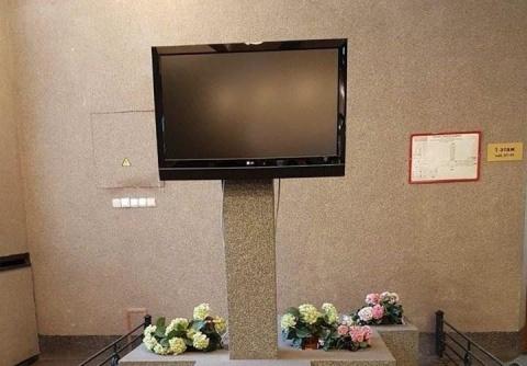 """Могилка телевизора"" в Санкт-Петербурге насмешила соцсети"