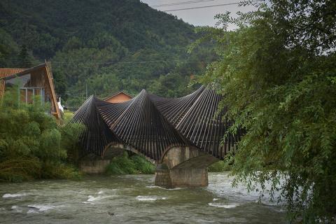Удивительная выставка бамбук…