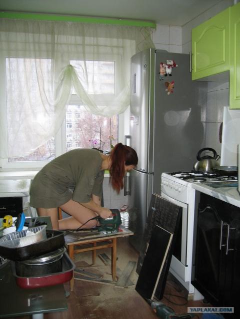 Перевоплощение кухни. Крутой…