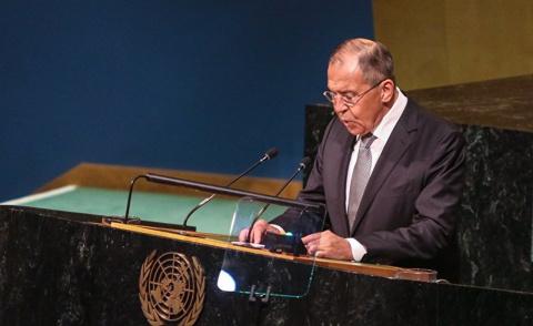 Россия и Китай с трибуны ООН встают в оппозицию к мировому порядку под руководством США. CNN, США