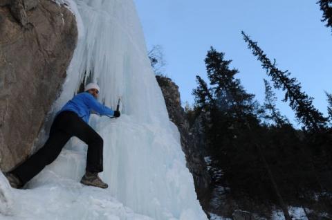Удивительные, Самые красивые Замерзшие Водопады Мира!