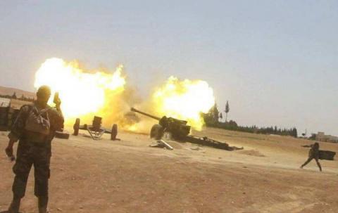 Разбитые в котлах боевики ИГ…