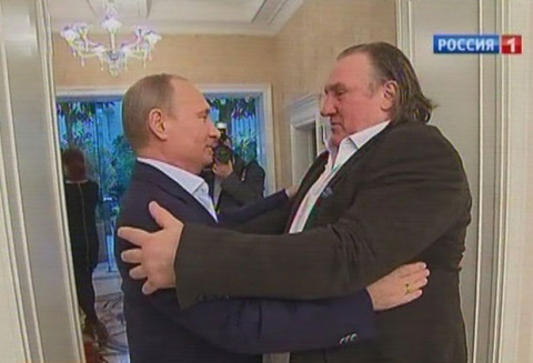 В Мордовии Депардье предложили пост министра культуры.