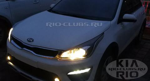 Хэтчбек Kia Rio X-Line для Р…