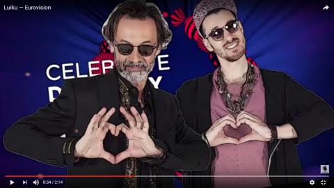 Киевский певец Ципердюк познакомил Европу с вульгарной «украинской душой».