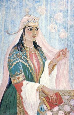 Надира (1792-1842) - узбекская поэтесса
