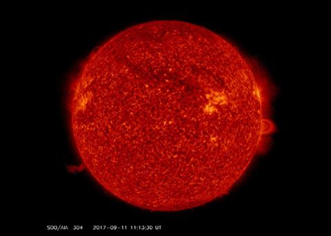 На Солнце произошла вторая по мощности вспышка за последние 12 лет