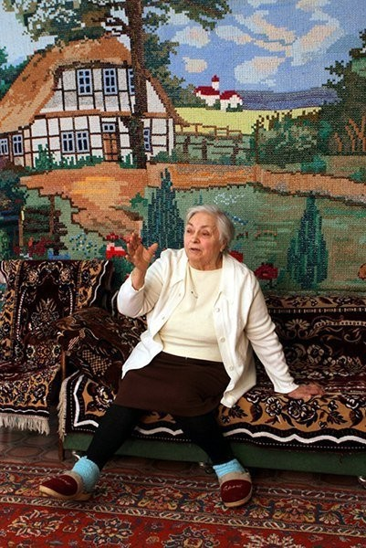 Бабушка Екатерина Кадолба вы…
