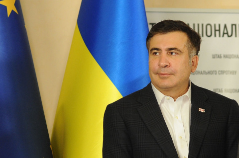 Прорыв Саакашвили: картонная вертикаль режима Порошенко может посыпаться