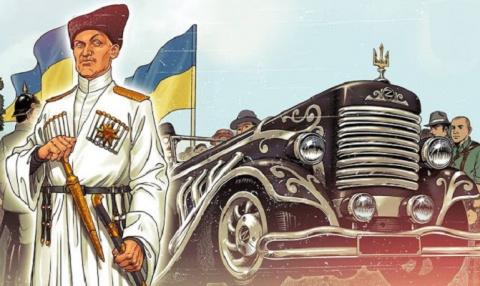 Скандальный украинский комик…