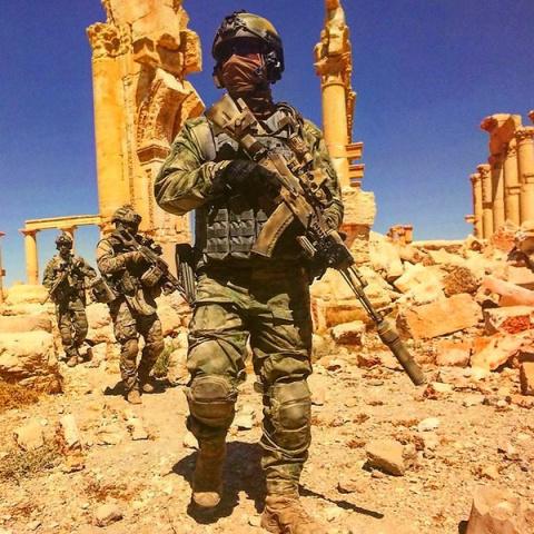 Иностранцы: о военнослужащих ССО России в Сирии