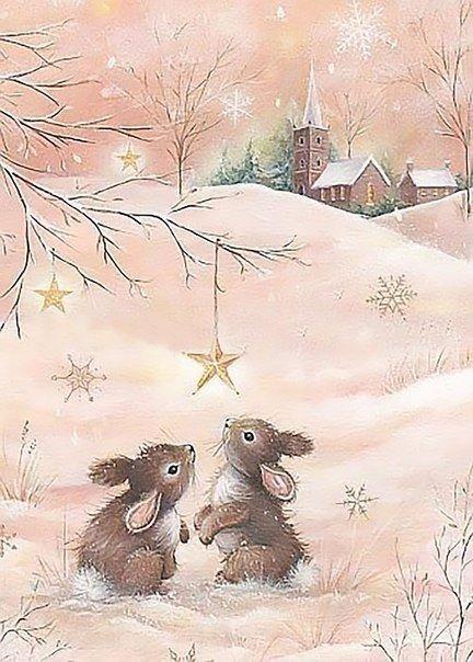 Волшебная зима в добрых иллю…