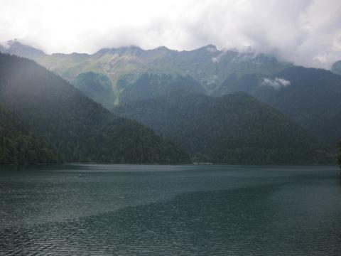 "Озеро ""Рица"" - жемчужина Абхазии"