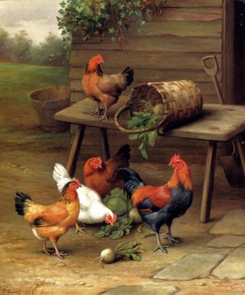 Домашние животные в живописи. Эдгар Хант.