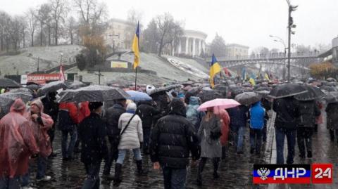 В Киеве прошел марш сторонни…