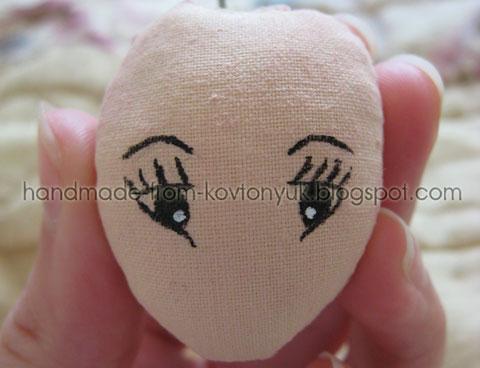 Мастер-класс корейской интерьерной куклы