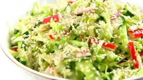 Безумно вкусный салат «Свеже…