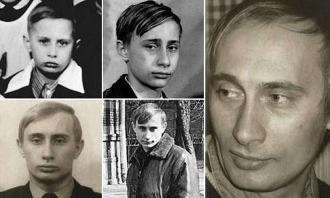 Фото Путина из личных архиво…