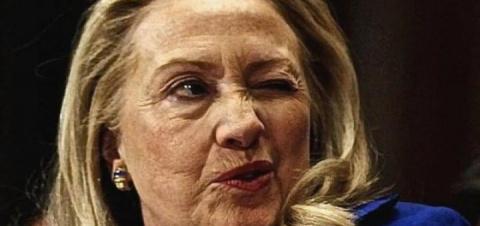 Клинтонша испугалась страшно…