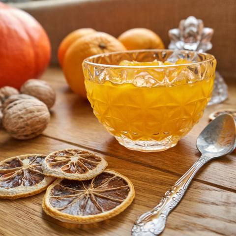 Варенье из тыквы с апельсино…