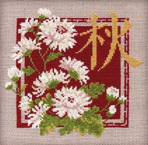 Хризантемы осень