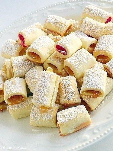 Легкий десерт: Фруктовые полосочки