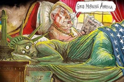 Джо Байден дышит в затылок Трампу, и мечтает стать новым президентом Америки