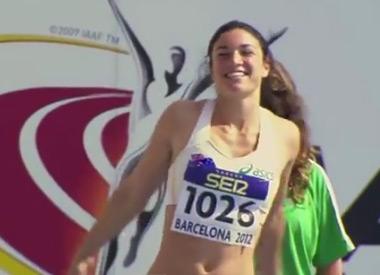 Австралийская бегунья Мишель Дженнике (Michelle Jenneke) заряжает позитивом