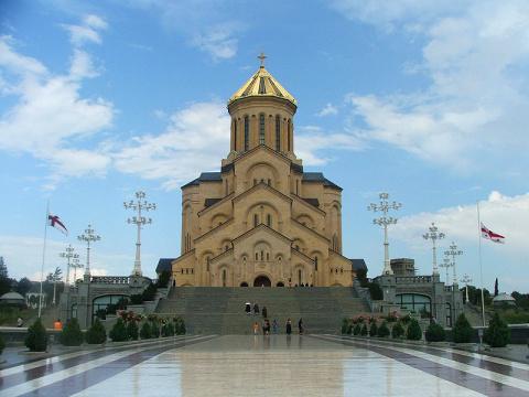 Собор  св. Троицы. Тбилиси.Грузия