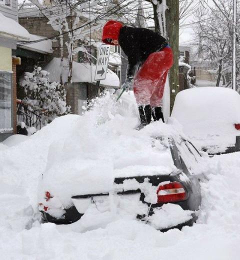Снегопады в Америке или из России с любвью