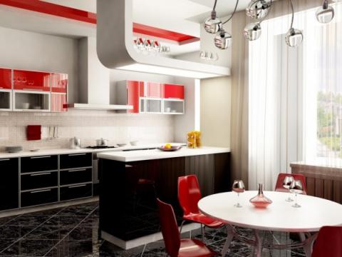 Различные варианты мебели для кухни